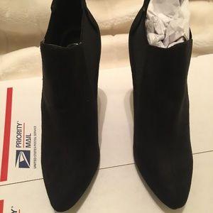 Pointy Toe Bootie Heels